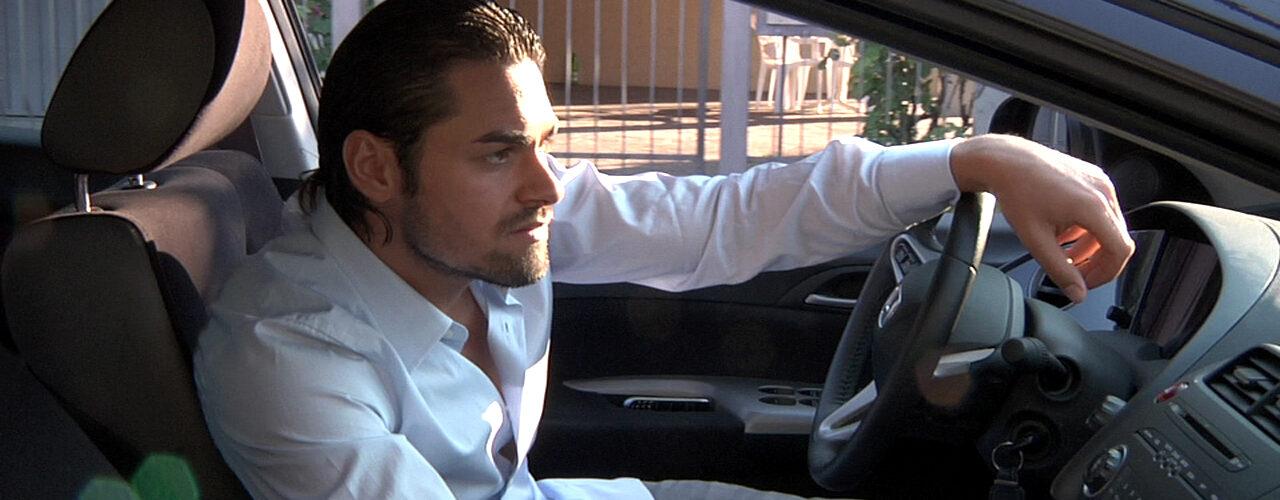 christian al volante